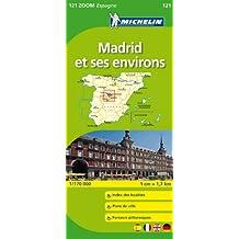 Carte ZOOM Madrid et ses environs
