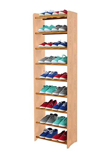 schuhregal-schuhschrank-schuhe-schuhstander-rbs-9-45-seiten-hellbraun-stangen-in-der-farbe-erle