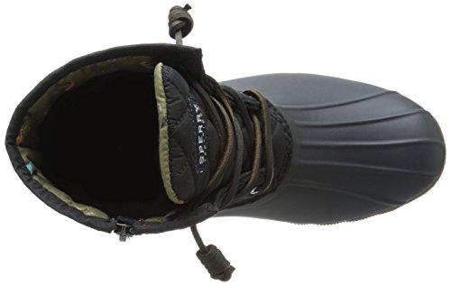 Sperry Top-Sider Saltwater Quilt, Stivali donna nero Black Black