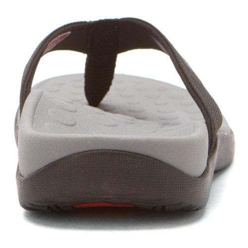 VIONIC Paire de semelles Orthaheel Technologie Wave orthatic Unisexe Sandale Noir - noir