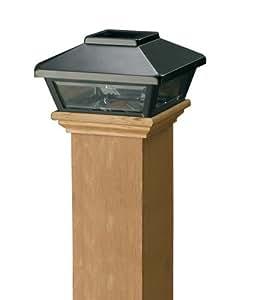 edle pfostenkappen topline solarleuchten mit akku. Black Bedroom Furniture Sets. Home Design Ideas