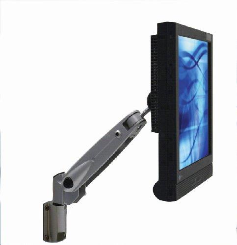 emvp500s-wm VISIONPRO 500Series Compact Gas unterstützt LCD LED Monitor Arm, Wandhalterung. Silber Wm-serie, Wandhalterung