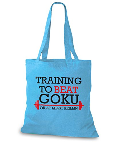 StyloBags Jutebeutel / Tasche Training to beat Goku or at least Krillin Sky