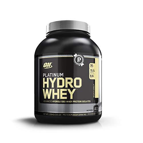 Optimum Nutrition Platinum Hydro Whey Protein Velocity Vanilla, 1er Pack (1 x 1.59 kg)