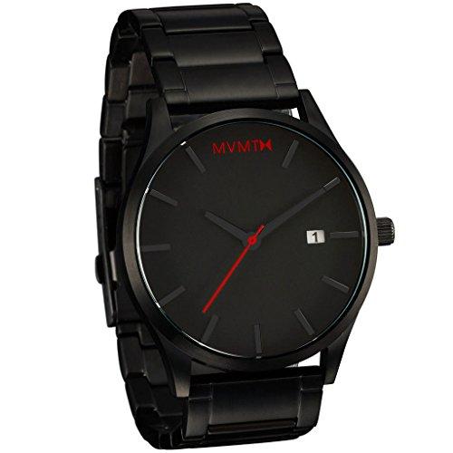 MVMT Quarzuhr Black/Black Bracelet L213.5B.551