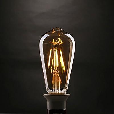 LED E27 Vintage Edison Retro Lampe