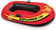 Intex Explorer 100 Boat, Multi-Colour, 58329