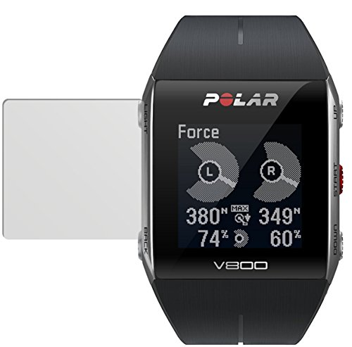 dipos I 6x Schutzfolie matt passend für Polar Trainingscomputer V800 Folie Bildschirmschutzfolie