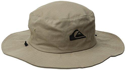 9405f2979adef Quiksilver aqyha03314-clm0 Mens Bushmaster Safari Hat Khaki Large X Large  Aqyha03314 Clm0- Price in India