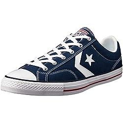 Converse Star Player Adulte Core Canvas Ox - Zapatillas deportivas, unisex, Azul, 45