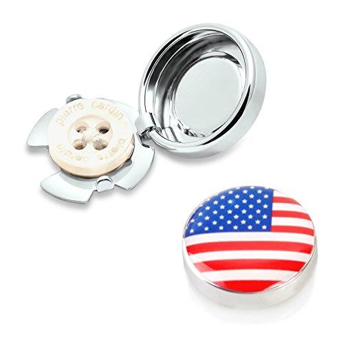 Amerika Knopfclips - Die Alternative für Manschettenknöpfe für gewöhnliche (Amerika Anzüge)