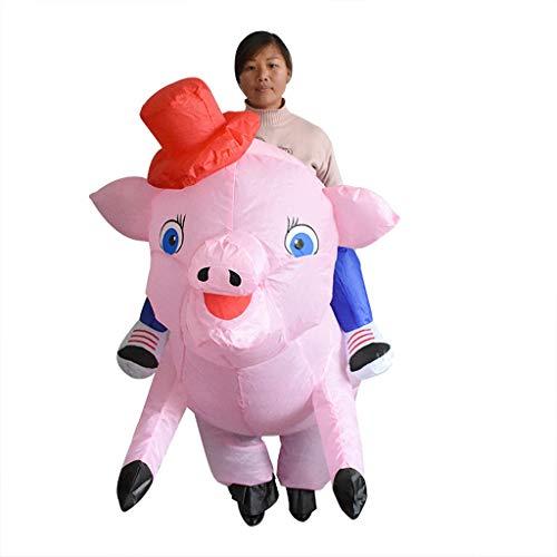 CYHY Cosplay Props Anzüge, Erwachsene Schweine, aufblasbare Kostüme, REIT Schweine, Halloween, Eltern-Kind-Performance, Kostüme, Cartoon Requisiten, Kostüme, Karneval Kostüme