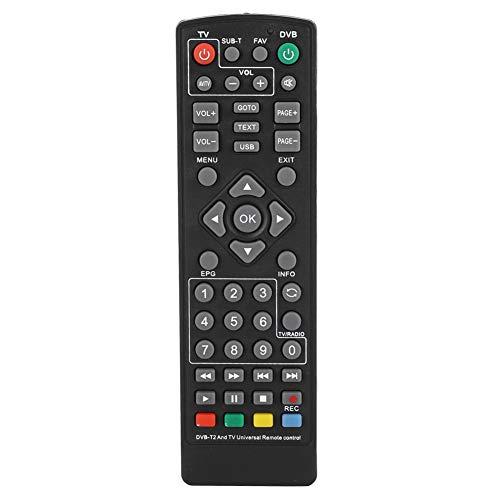 Bewinner Remote Controller pour décodeur, Remplacement de Haute qualité décodeur DVB-T2 télécommande pour décodeur DVB-T2