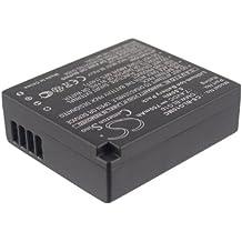 techgicoo 750mAh/5,55wh batería compatible con Panasonic Lumix DMC-GF6, Lumix DMC-GX7, Lumix DMC-GF6K, Lumix DMC-GF6R, Lumix DMC-GF6T y otros