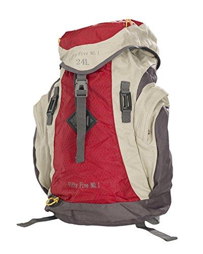 Rucksack 24 Liter Backpack von Fifty Five - Hiking Star No.1 - 24 Liter Inhalt Red