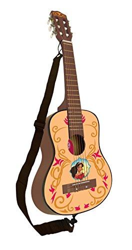 Elena de Avalor- Disney Guitarra Clásica De 6 Cuerdas, 78 cm Largo, Material de Madera (Lexibook K2000EL)