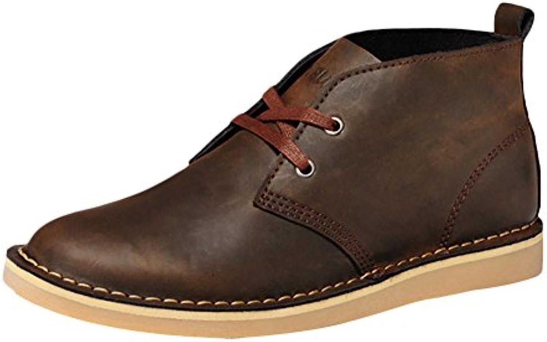 ICEGREY Herren Desert Boots Kurzschaft Stiefel  Stiefeletten Braun EU 38