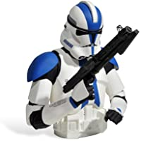 Preisvergleich für Star Wars Clone Commander Appo Deko Statue Spardose 19cm Geschenk für Star Wars Fans