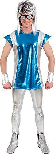 Spaceman Weltraum Kostüm, Größe - Spaceman Kostüm