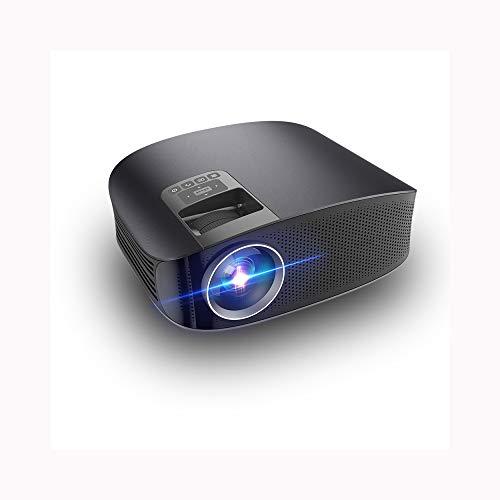 Link Co Gleicher Bildschirmprojektor Full HD 1080P Eingebaute Stereoanlage Büro-Projektionsgeräte Stummschaltung der Wärmeableitung kabelgebundene Projektion