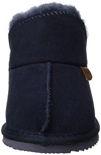 Warmbat Willow Bootie, Chaussons Garçon Bleu marine foncé
