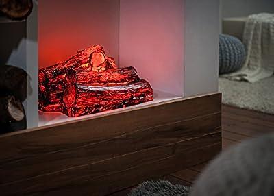 Kaminfeuer mit Glühlampe von Rakso bei Heizstrahler Onlineshop