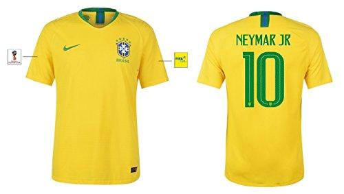 Trikot Herren Brasilien WM 2018 Home - Neymar Jr 10 (L)