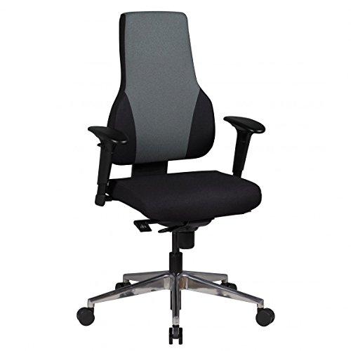 AMSTYLE sedia da ufficio QENTIN tessuto tappezzeria sedia da scrivania