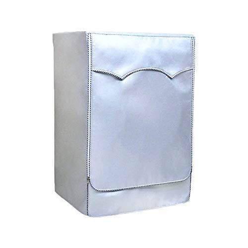 Waschmaschine Abdeckung,Wasserdichte Waschmaschine Cover Protector Outdoor für zu Hause Wäsche Wasserdichte Abdeckung Sonnencreme Frontlader Trockner Waschmaschine staubdicht (XL-60x65x85cm) (Frontlader-waschmaschine Abdeckung)