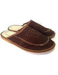 BARJA - Zapatillas de estar por casa para hombre marrón marrón