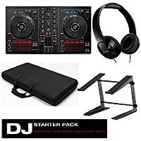 Kit DJ Pioneer DDJ RB + SE-MJ503K + Bolsa Transporte DJ + Laptop Stand DJ