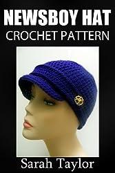 Newsboy Hat Crochet Pattern (English Edition)
