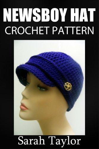 Newsboy Hat Crochet Pattern (English Edition) -
