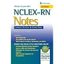 NCLEX-RN Notes : Content Review & Exam Prep, 3E (Davis' Notes)