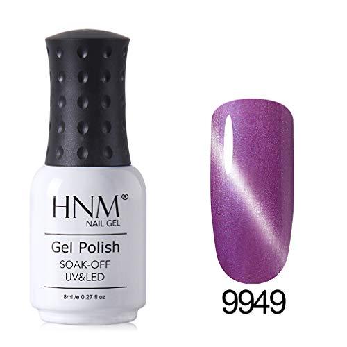 HNM Oeil de chat Gel Vernis à Ongles Fix-Line Effet Magnétique 3D UV LED 8ml Soak Off Manucure HNM-9949