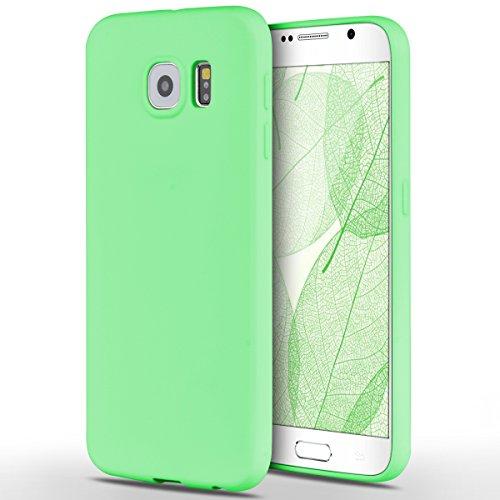 custodia s6 samsung silicone verde