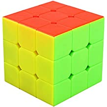 Speed Cube 3x3 Stickerless, LSMY Puzzle Mágico Cubo Toy