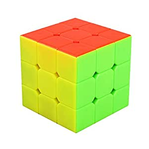 3x3x3 Speed Cube Stickerless, LSMY Puzzle Magic Cubes Toy