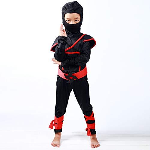 ZSDFGH Ninja Kostüm/Ninja Turtles Kostüm/Teenage Mutant Ninja Turtles/Ninja Turtles Kostim Kinder/Fasching Kostüm - Ninja Männliche Kostüm
