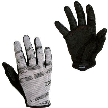 POW pour homme Short hypervent Long gants de vélo Noir 2013large gris - Gris