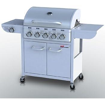 Broil master barbecue a gas 5 1 per de at ch con 5 for Copertura per barbecue a gas