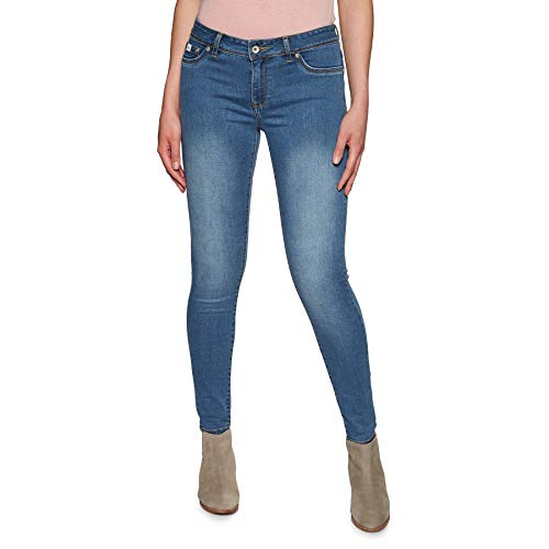 Superdry Alexia Jegging Womens Jeans 24 inch Clean Mid Alexia Zip