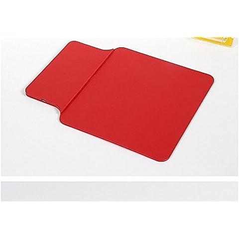 Qi Wireless Charger Pad; facleta nuovo Dual Purpose PU Pelle per Laptop Notebook Desktop Mouse (Universale Ac Parete)