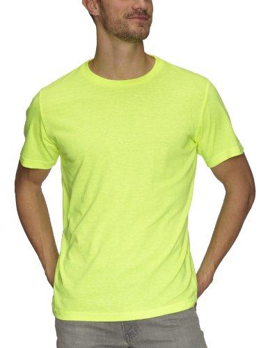 Coole-Fun-T-Shirts Men's Neon T-Shirt Floureszierend