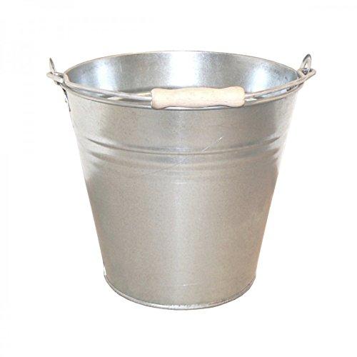 Zinkeimer 10L Metalleimer verzinkt Blecheimer Ascheeimer Eimer Wassereimer