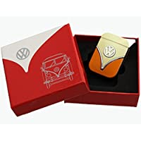 Genuine Volkswagen lighter in the front shield design - in different colors - Gift Set (VW-Bulli-yellow-orange) by Volkswagen