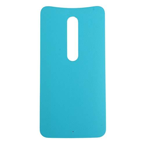 CHENCHUAN Hintere Abdeckung des Akkus Batterie rückseitige Abdeckung für Motorola Moto X (grün) Ersatzteil für Motorola (Farbe : Blue) - X Abdeckung Moto Ersatz Batterie