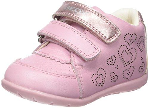 Geox Baby Mädchen B Kaytan A Sneaker, Pink (Lt Pink), 23 EU (Patent-high-top-sneaker)