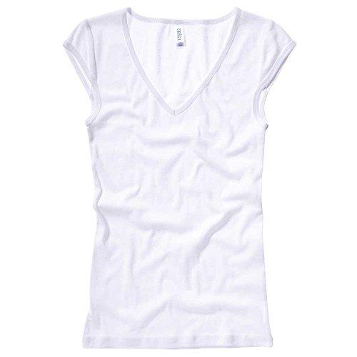 Bella CanvasDamen T-Shirt Weiß - weiß