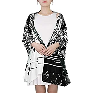 City Street Scene With Buildings Unique Fashion Scarf For Women Lightweight Fashion Fall Winter Print Scarves Shawl Wraps Gifts For Early Spring